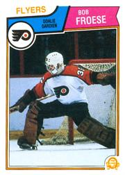1983-84 O-Pee-Chee #265 Bob Froese RC