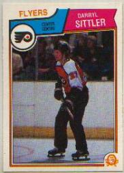 1983-84 O-Pee-Chee #272 Darryl Sittler front image