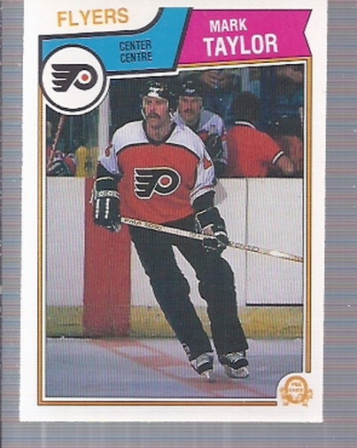 1983-84 O-Pee-Chee #273 Mark Taylor RC