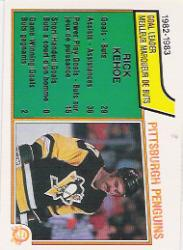 1983-84 O-Pee-Chee #274 Rick Kehoe SL
