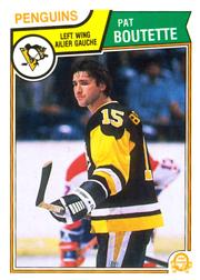 1983-84 O-Pee-Chee #276 Pat Boutette