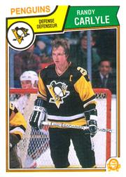 1983-84 O-Pee-Chee #278 Randy Carlyle
