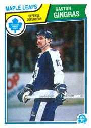 1983-84 O-Pee-Chee #332 Gaston Gingras
