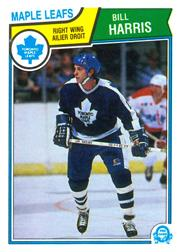 1983-84 O-Pee-Chee #333 Billy Harris