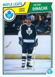 1983-84 O-Pee-Chee #334 Peter Inhacak RC