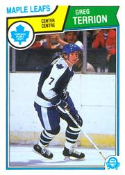 1983-84 O-Pee-Chee #342 Greg Terrion