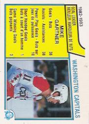 1983-84 O-Pee-Chee #364 Mike Gartner TL