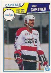 1983-84 O-Pee-Chee #369 Mike Gartner