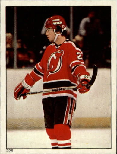 1983-84 O-Pee-Chee Stickers #226 Aaron Broten