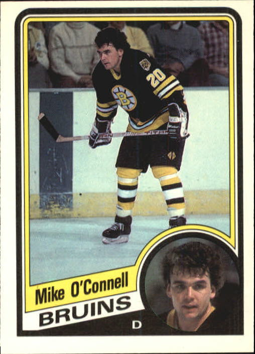 1984-85 O-Pee-Chee #12 Mike O'Connell