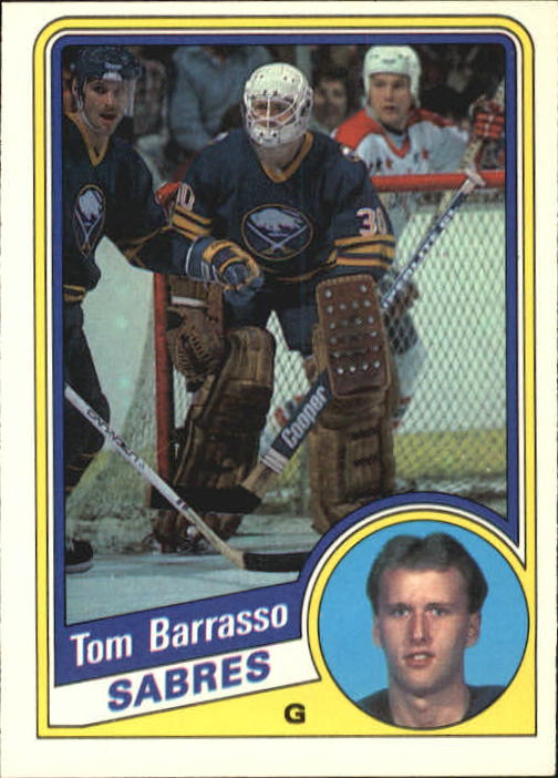 1984-85 O-Pee-Chee #18 Tom Barrasso RC