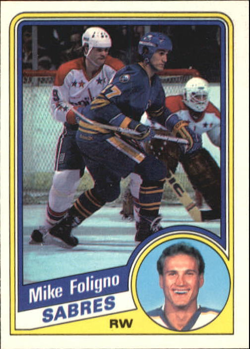 1984-85 O-Pee-Chee #20 Mike Foligno