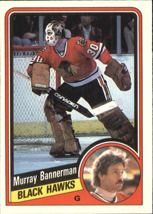 1984-85 O-Pee-Chee #32 Murray Bannerman