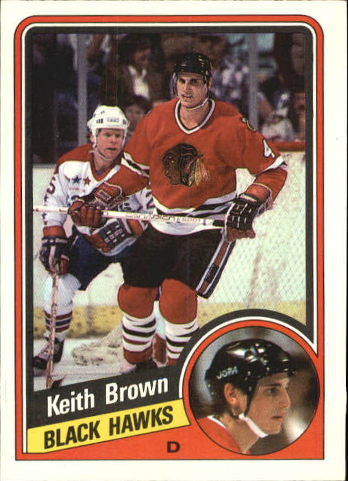 1984-85 O-Pee-Chee #33 Keith Brown