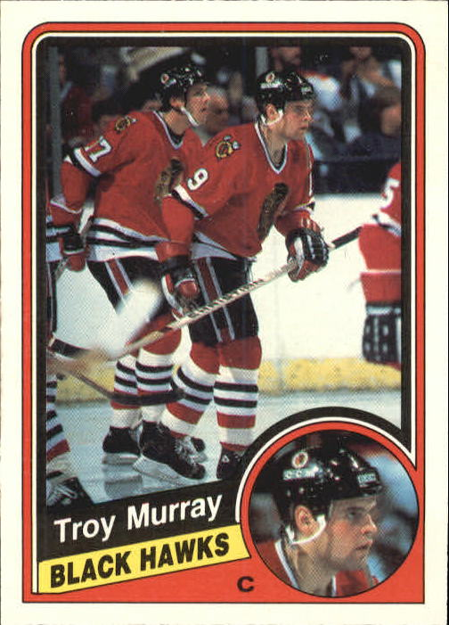 1984-85 O-Pee-Chee #42 Troy Murray RC