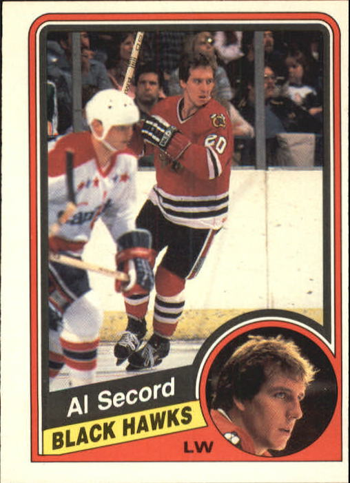 1984-85 O-Pee-Chee #46 Al Secord