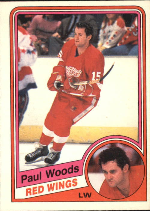 1984-85 O-Pee-Chee #66 Paul Woods