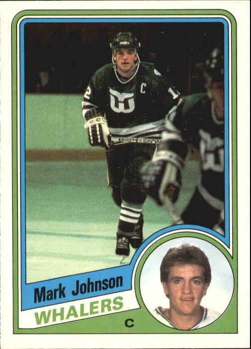 1984-85 O-Pee-Chee #72 Mark Johnson