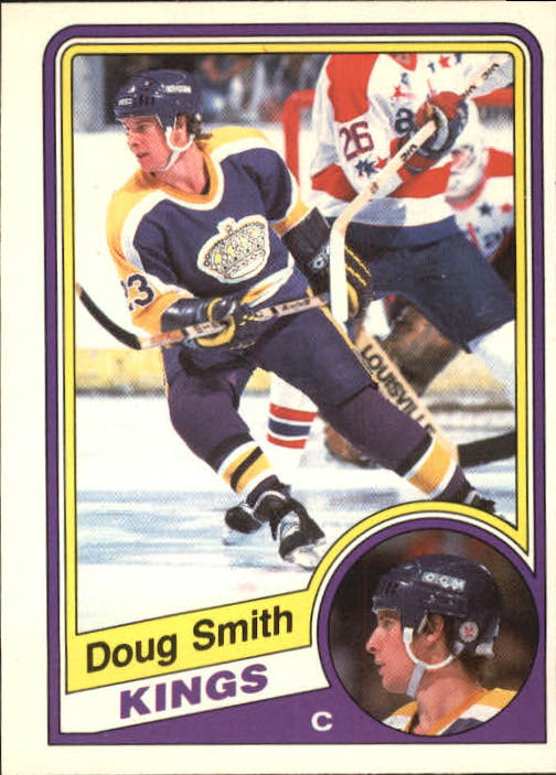 1984-85 O-Pee-Chee #91 Doug Smith