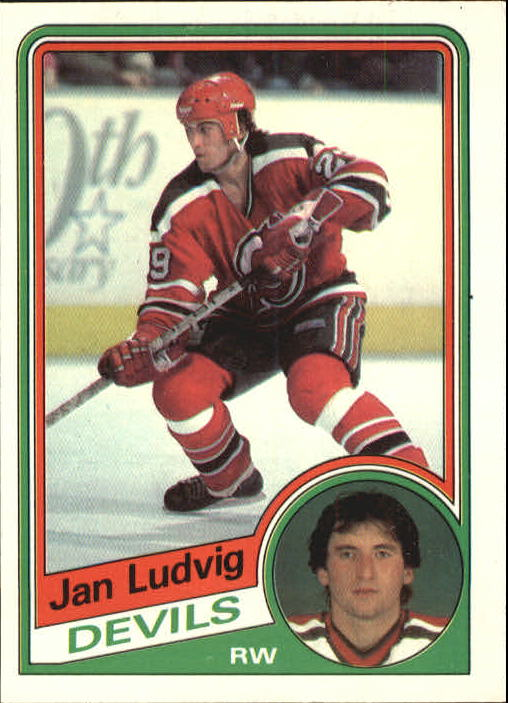1984-85 O-Pee-Chee #116 Jan Ludvig RC
