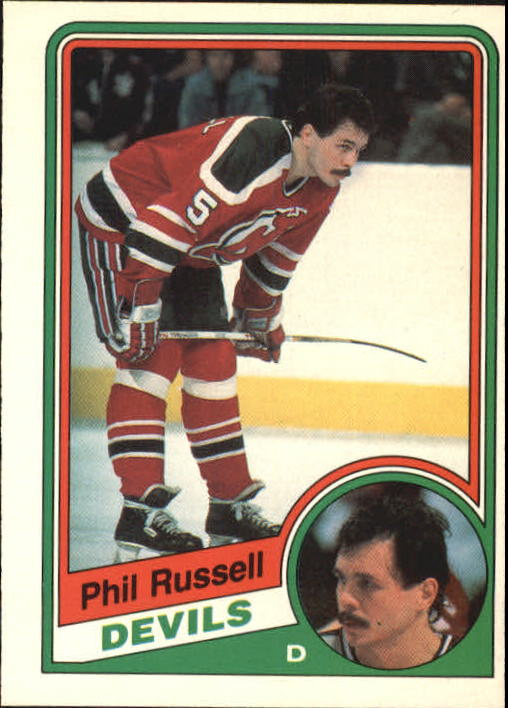 1984-85 O-Pee-Chee #120 Phil Russell