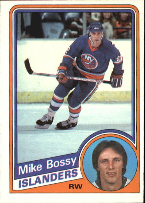 1984-85 O-Pee-Chee #122 Mike Bossy