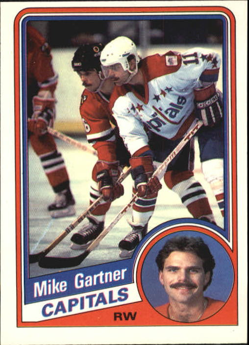 1984-85 O-Pee-Chee #197 Mike Gartner