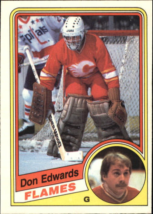 1984-85 O-Pee-Chee #222 Don Edwards