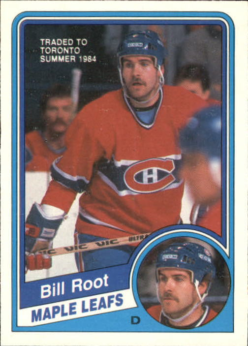 1984-85 O-Pee-Chee #271 Bill Root
