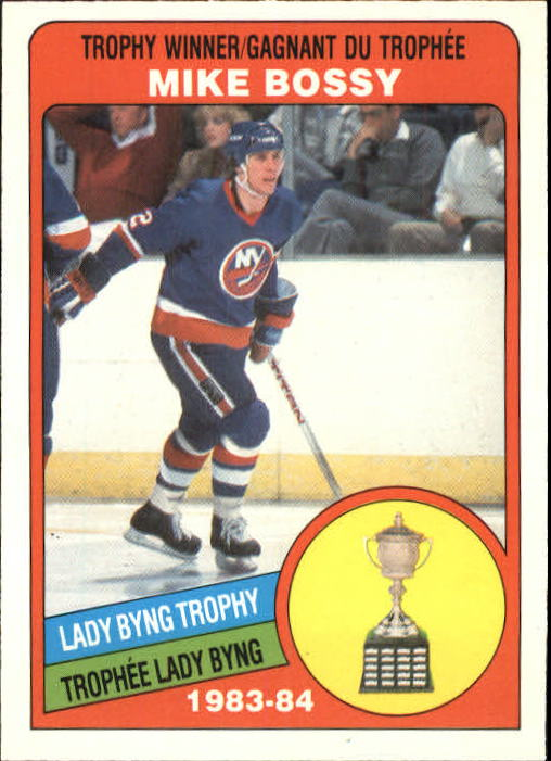1984-85 O-Pee-Chee #376 Mike Bossy Byng