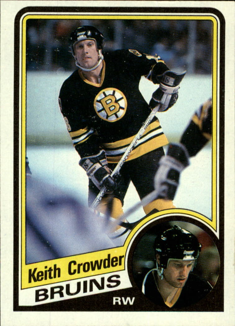 1984-85 Topps #2 Keith Crowder SP front image