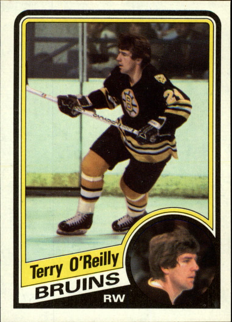 1984-85 Topps #10 Terry O'Reilly SP front image