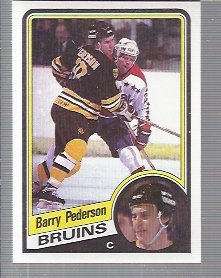 1984-85 Topps #11 Barry Pederson