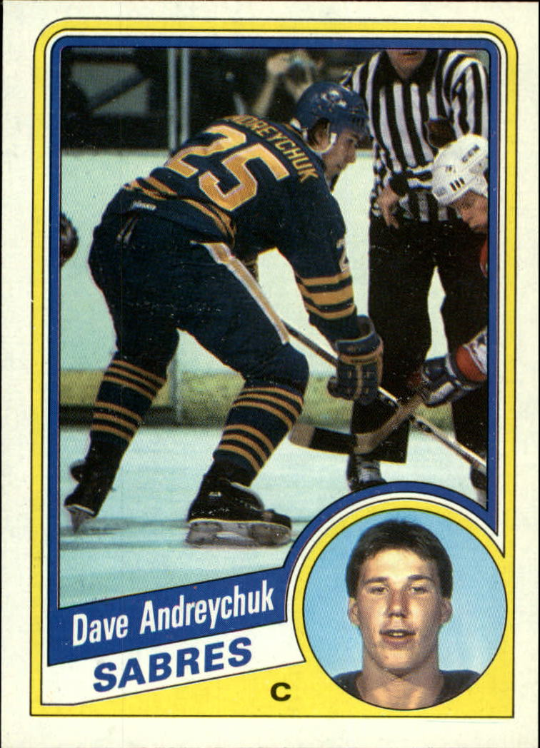 1984-85 Topps #13 Dave Andreychuk SP RC