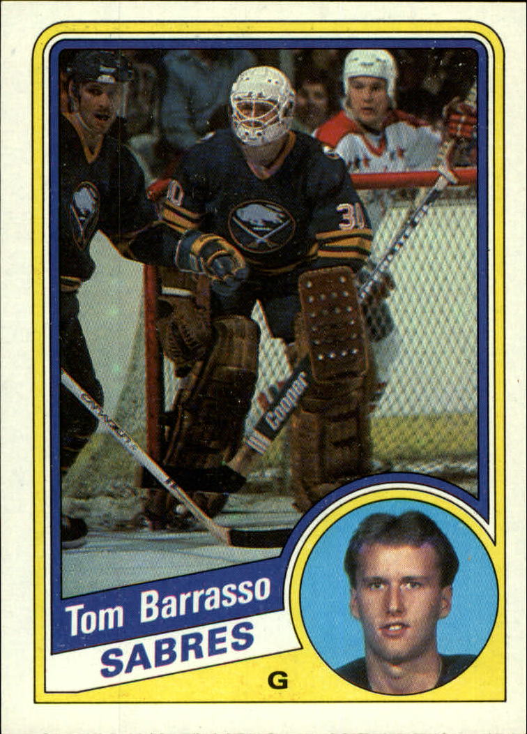 1984-85 Topps #14 Tom Barrasso RC