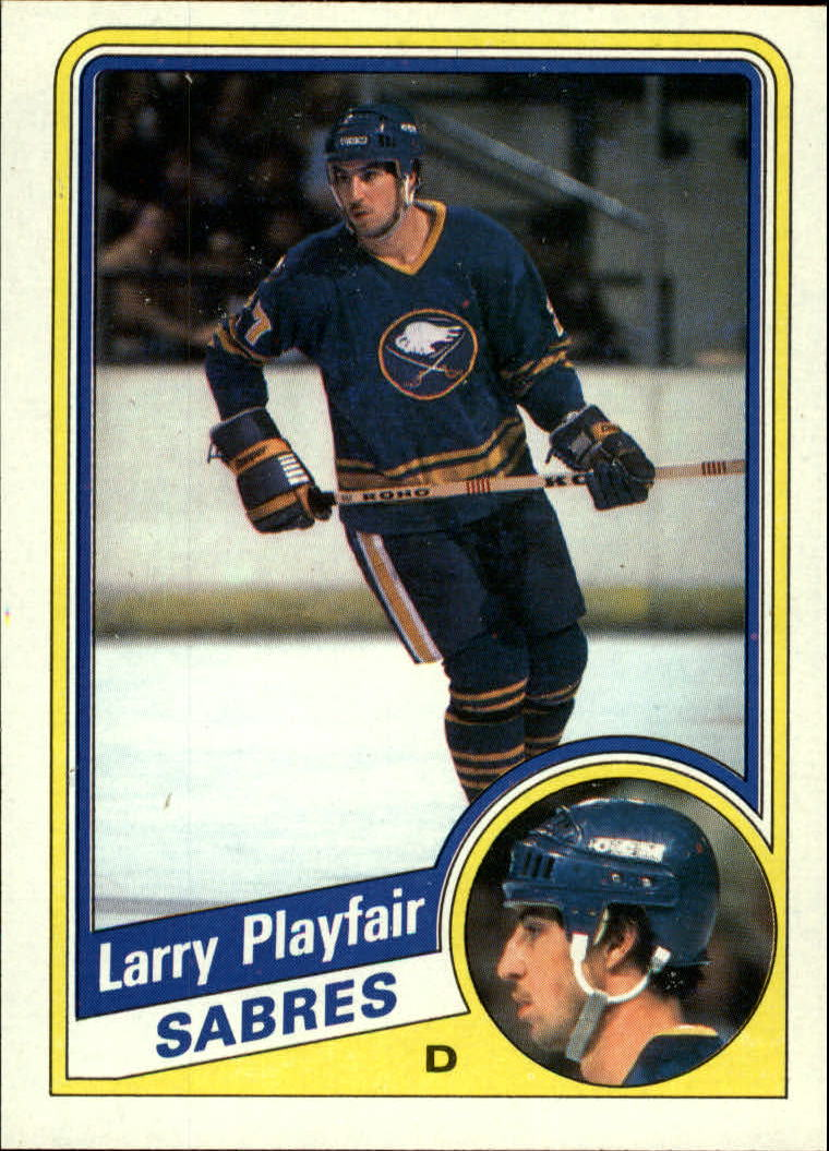 1984-85 Topps #20 Larry Playfair SP