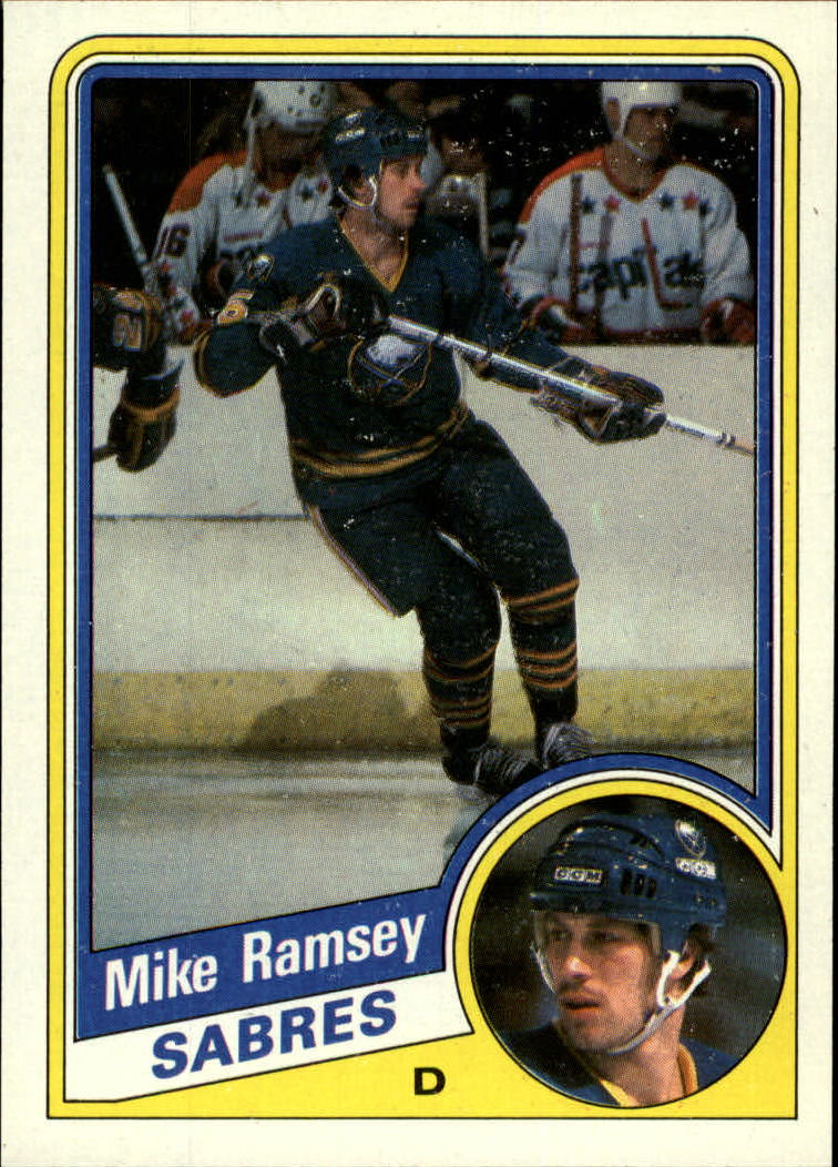 1984-85 Topps #22 Mike Ramsey