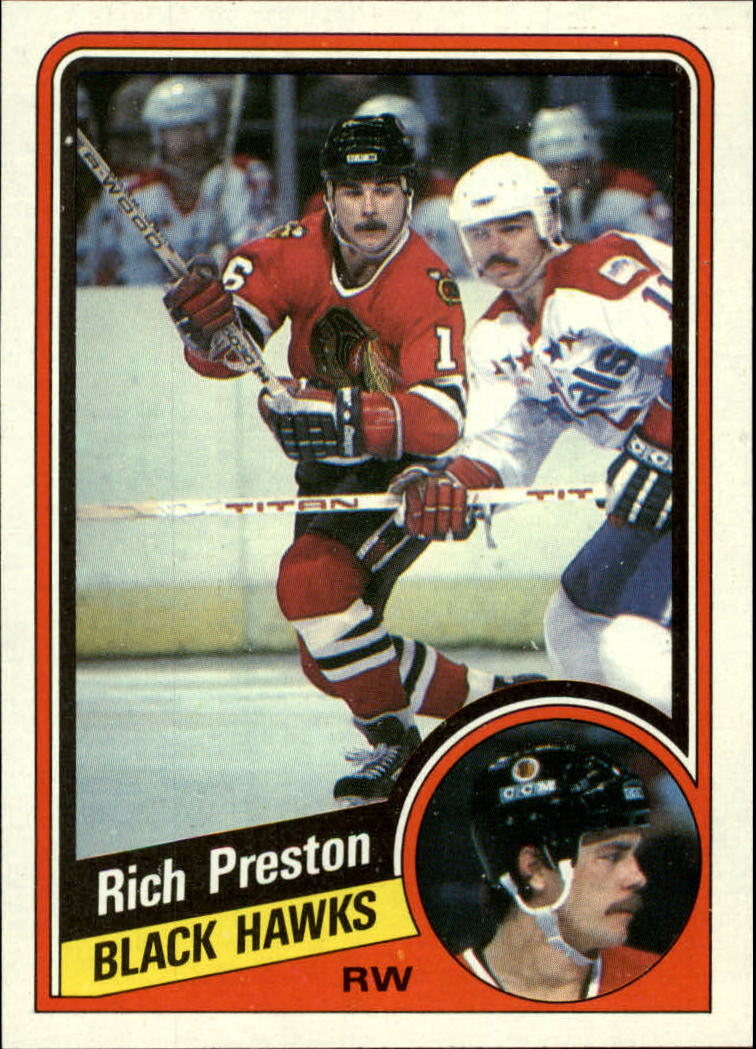 1984-85 Topps #34 Rich Preston