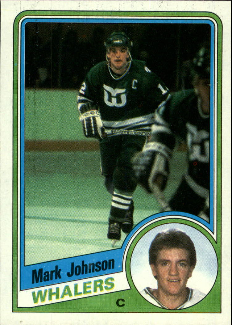 1984-85 Topps #56 Mark Johnson SP