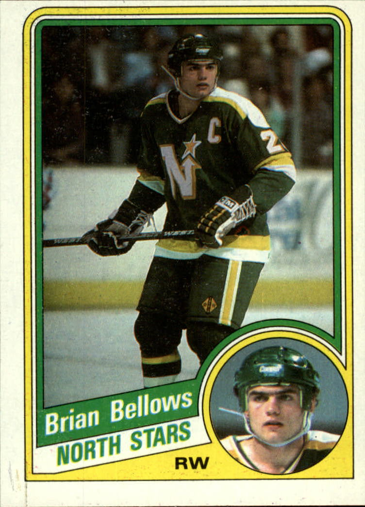 1984-85 Topps #71 Brian Bellows