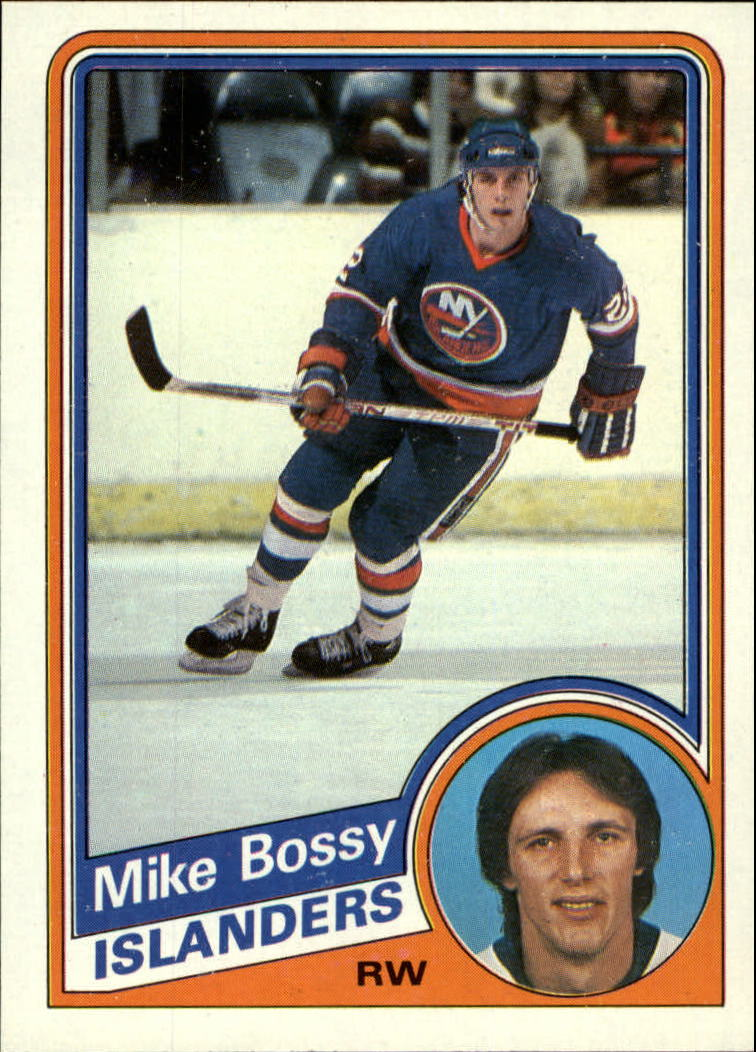 1984-85 Topps #91 Mike Bossy