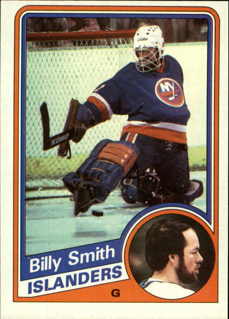 1984-85 Topps #101 Billy Smith SP