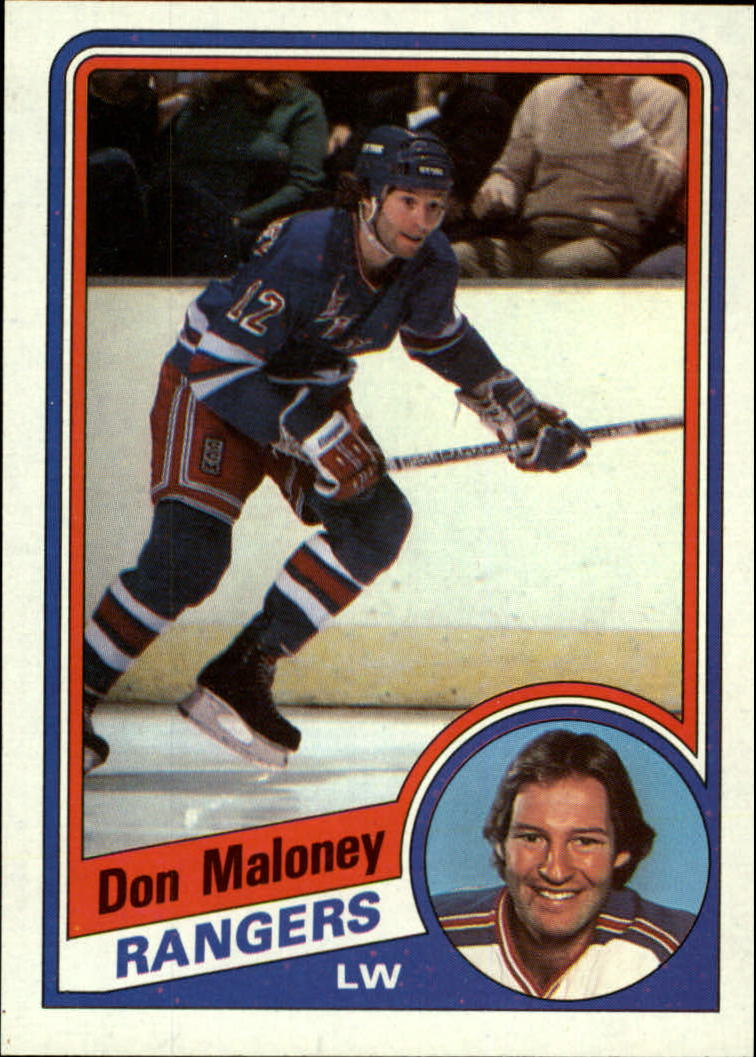1984-85 Topps #109 Don Maloney SP