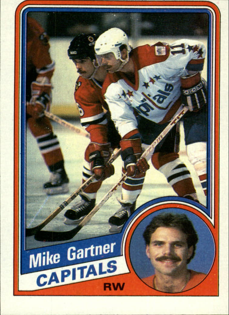 1984-85 Topps #143 Mike Gartner SP