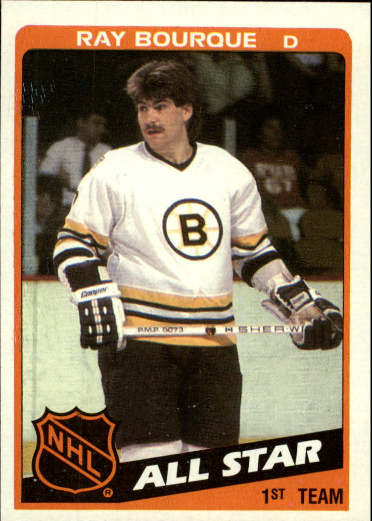 1984-85 Topps #157 Ray Bourque AS
