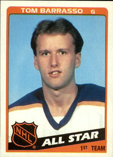 1984-85 Topps #158 Tom Barrasso AS front image