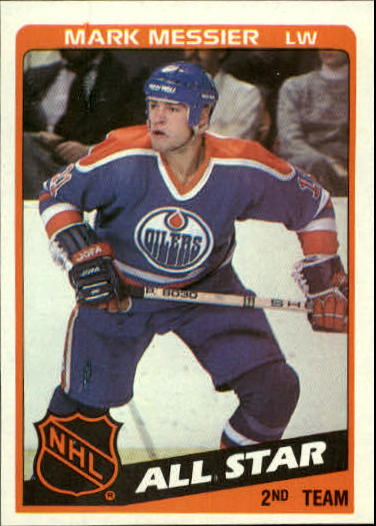 1984-85 Topps #159 Mark Messier AS