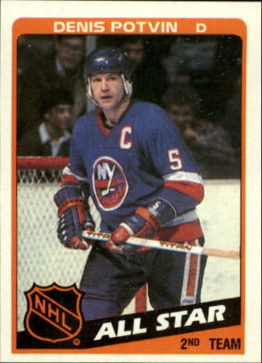 1984-85 Topps #162 Denis Potvin AS