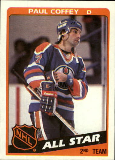1984-85 Topps #163 Paul Coffey AS
