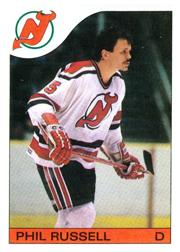 1985-86 O-Pee-Chee #30 Phil Russell